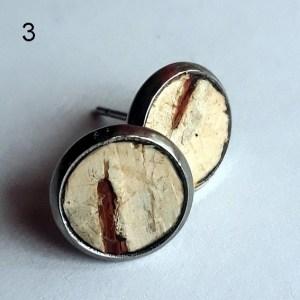 Tuohi-korvakorut - Birch Bark Earrings